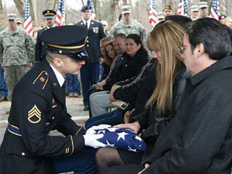 military funeral service